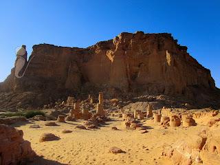 Fotografía del cerro de Gebel Barkal