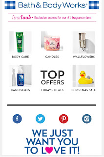 Bath & Body Works | Today's Email - December 19, 2019
