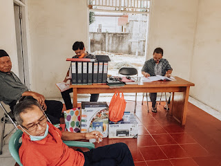 Sertijab Sukses Digelar, Kini Warga Kavling Pemda Kota Tangerang Miliki Ketua RW Baru Kaum Rebahan ID