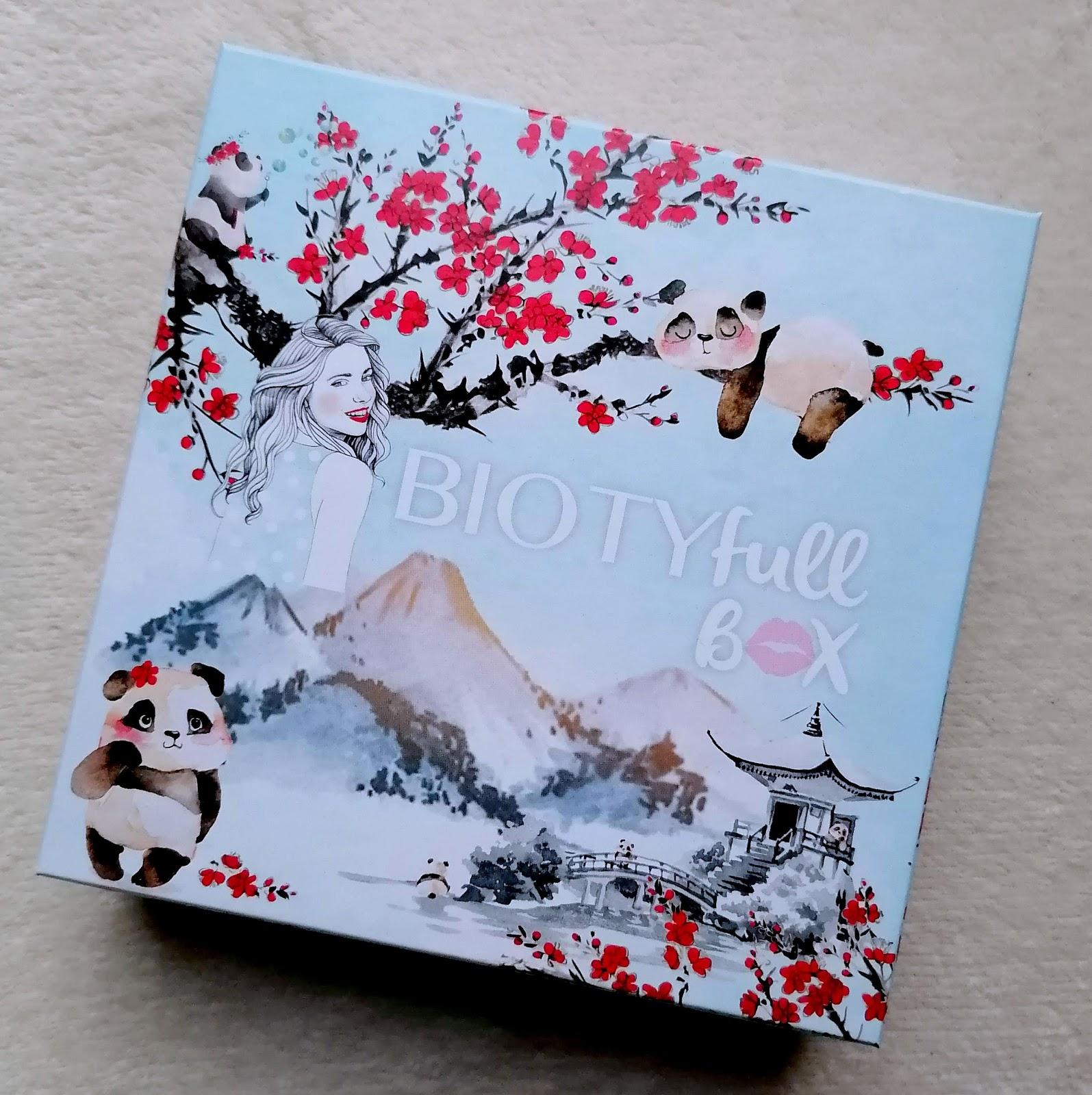 BIOTYFULLBOX Janvier 2020 : La layering panda!