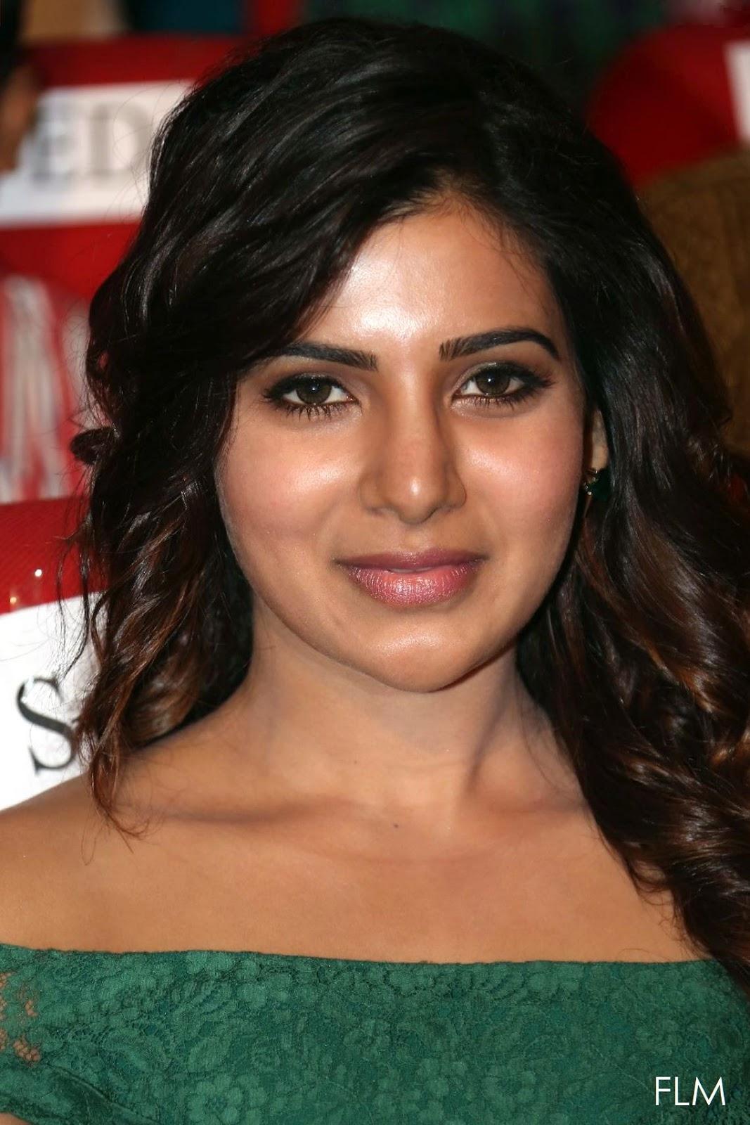 Samantha Ruth Prabhu In Green Top