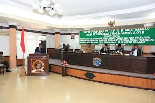 Wakil Wali Kota Tarakan Menghadiri Rapat Paripurna VII Dan VIII DPRD - Tarakan Info