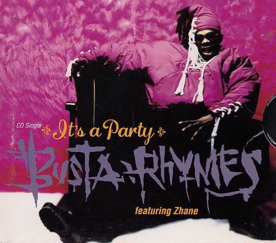 Busta Rhymes Ft. Zhane - It's A Party (Clean / Dirty) - Single