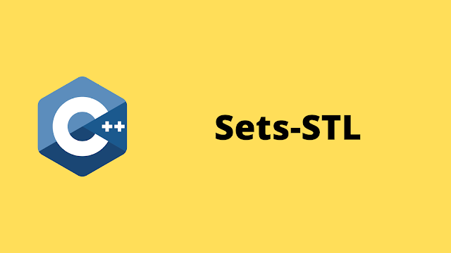HackerRank Sets-STL solution in c++ programming