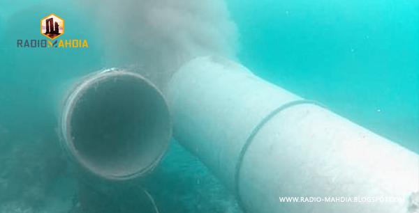 رجيش : فتح تحقيق حول فك مواسير التطهير داخل البحر