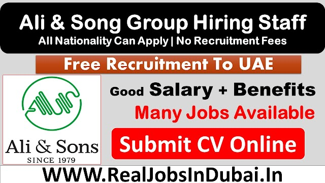 Ali & Sons Careers Announced Job Vacancies
