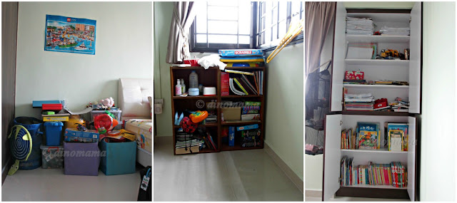 Reorganizing Room: Mum In The Making: {Small Spaces} DinoEgg's Room