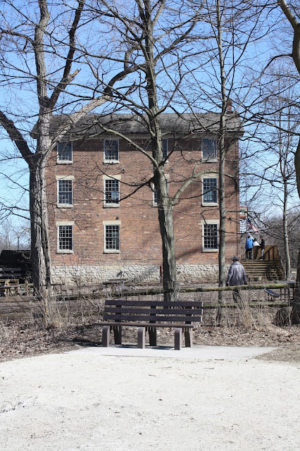 Historic Graue Mill in Fullersburg Woods Oak Brook, Illinois