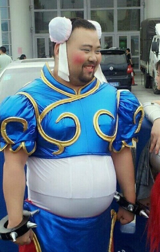 Share your fat sailor moon cosplay