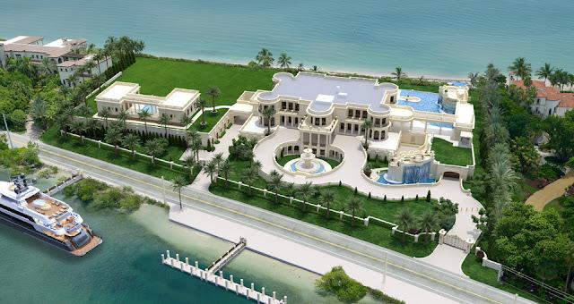 Las mansiones más lujosas del mundo, la #5 vale más que mi país