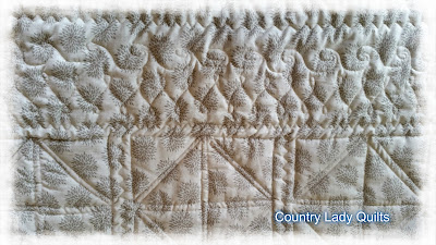 Country Lady Quilts: Two finishes