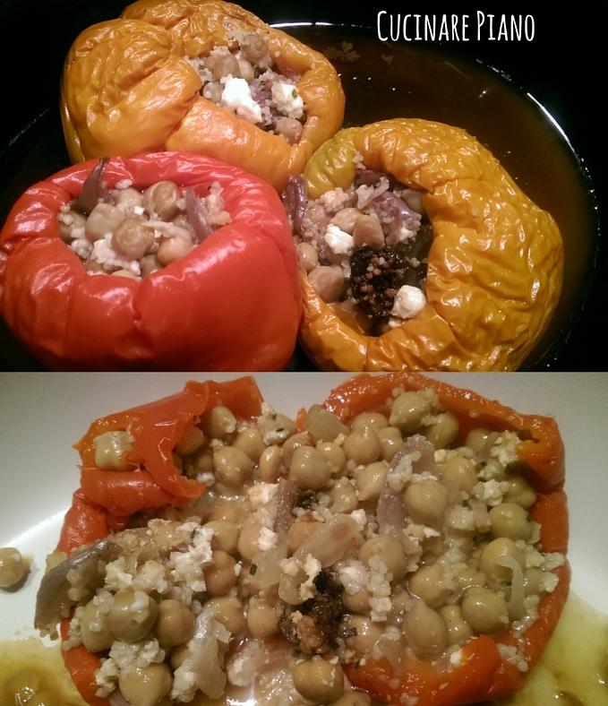 Cucinare piano cucinare sano peperoni ripieni ricetta slowcooker - Cucinare i peperoni ...