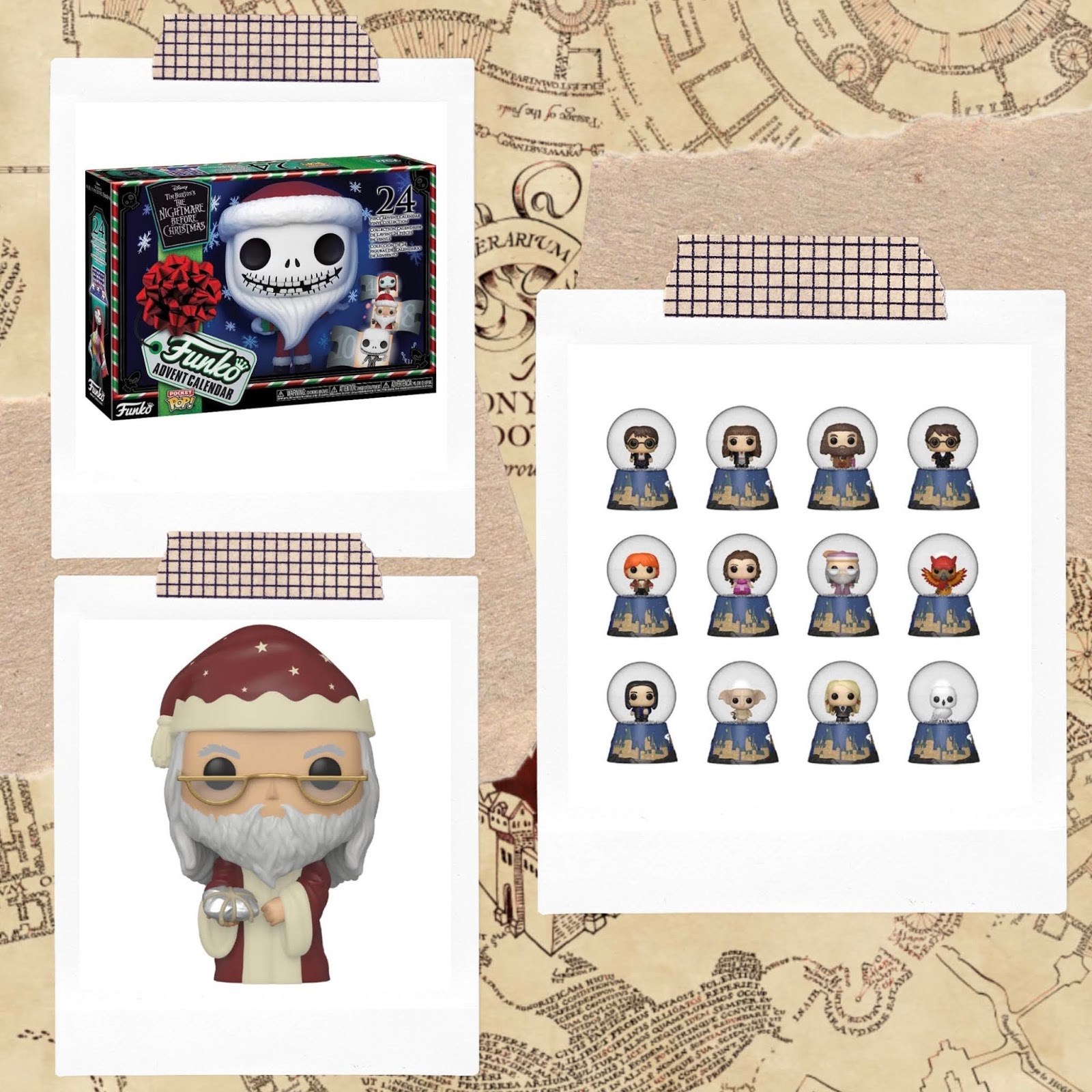 A first look at this years Funko Disney & Harry Potter Christmas Range!