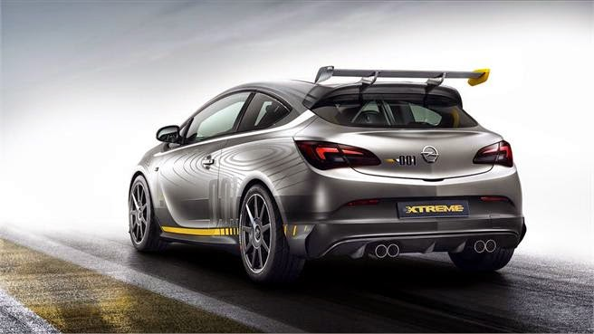 Opel Astra Opc Extreme, trasera