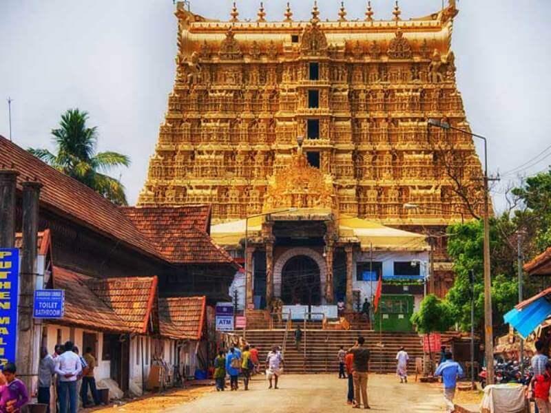 Harta Kuil Hindu Trivandrum