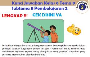 Kunci Jawaban Kelas 6 Tema 9 Subtema 3 Pembelajaran 2 www.simplenews.me