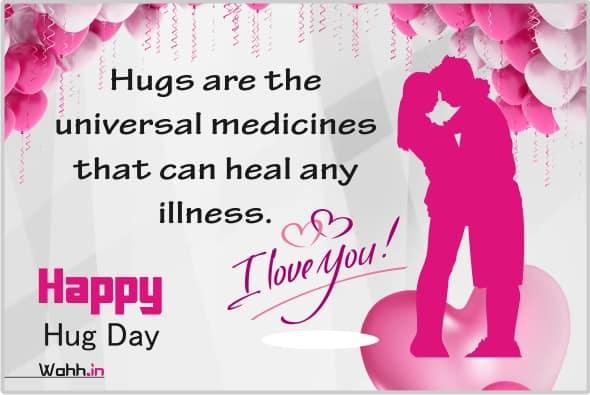 love hug messages