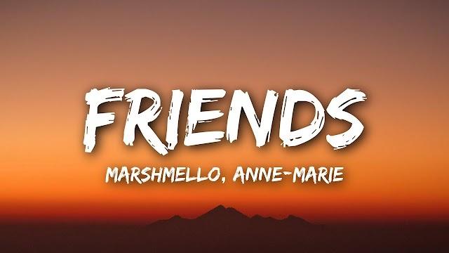 Marshmello friends lyrics Anne Marie in English and Hindi