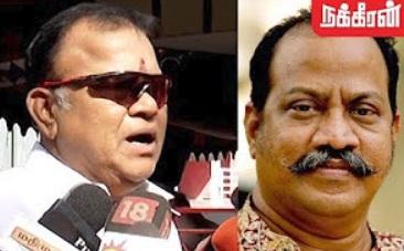 Radha Ravi pays last respect to Journalist Gnani Sankaran