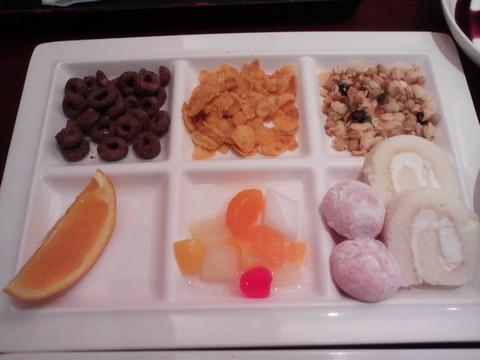 デザート1 ホテルエミシア札幌カフェ・ドム