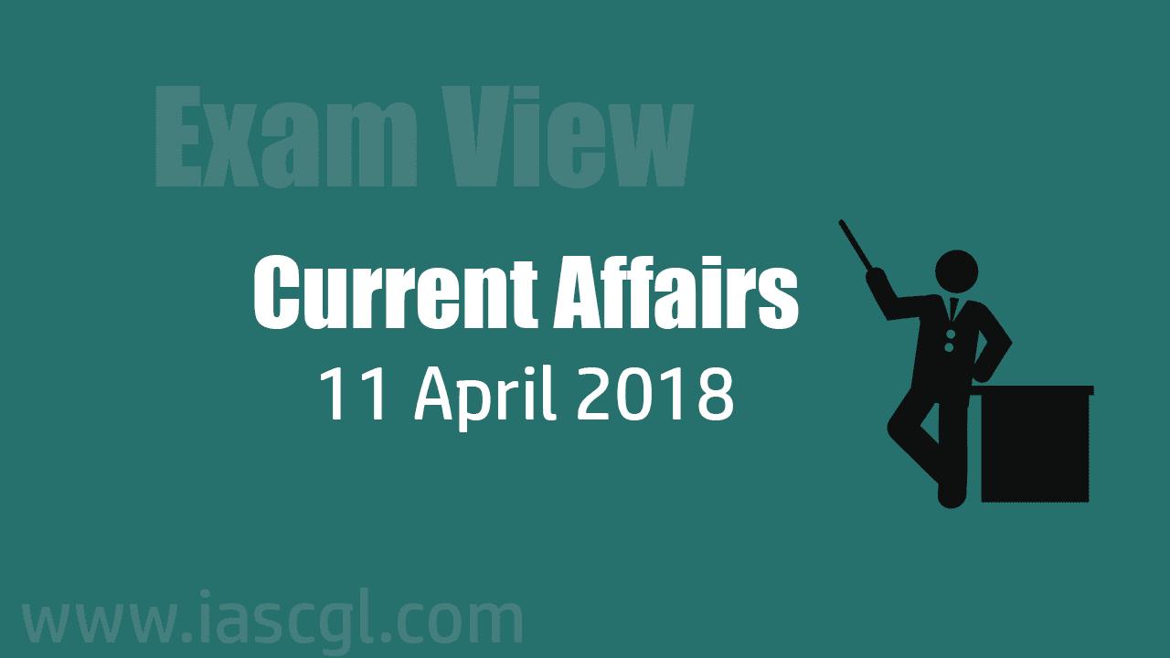 Current Affair 11 April 2018