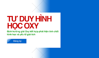 Làm chủ Hình phẳng Oxy Bằng tư duy hình học Giáo viên Đặng Thành Nam