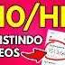 Ganhe $10 hora assistindo a vídeos online (dinheiro grátis no PayPal)