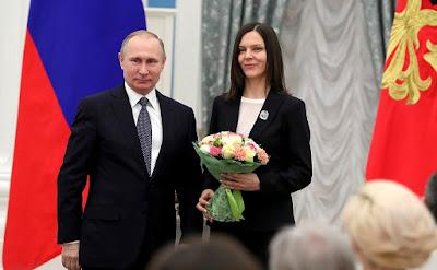 Vladimir Putin, Anna Kudryavtseva.