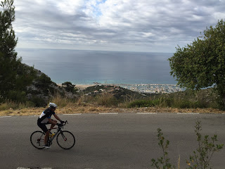 Cycling in Castelldefels with Montefusco Cycling