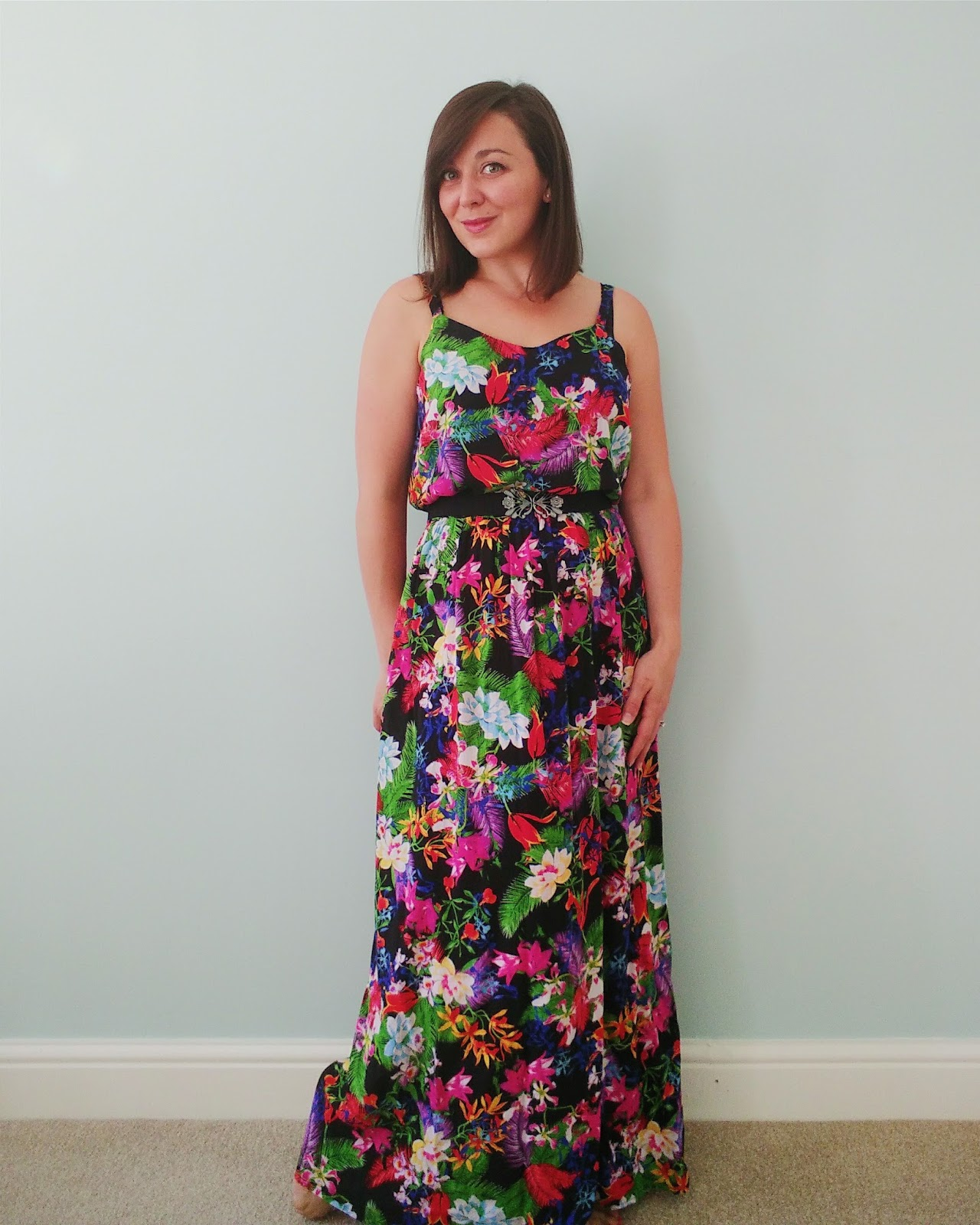 Speedy summer maxi dress