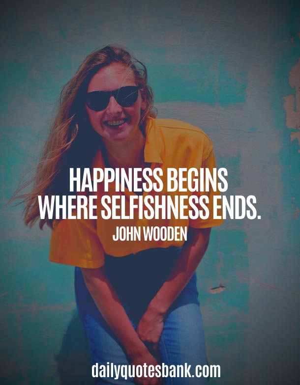 John Wooden Quotes On Happiness