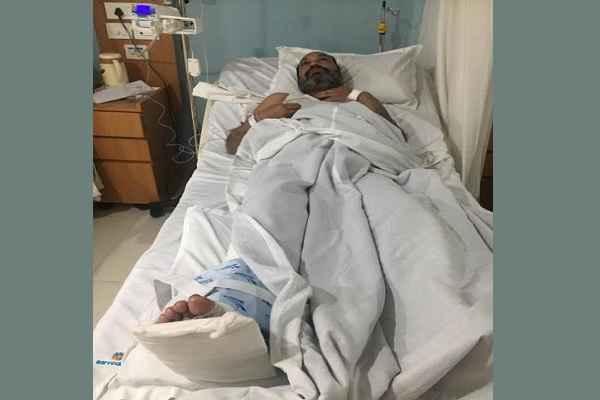 palwal-aurangabad-toll-plaza-subhash-garg-attack-admitted-in-sarvodaya