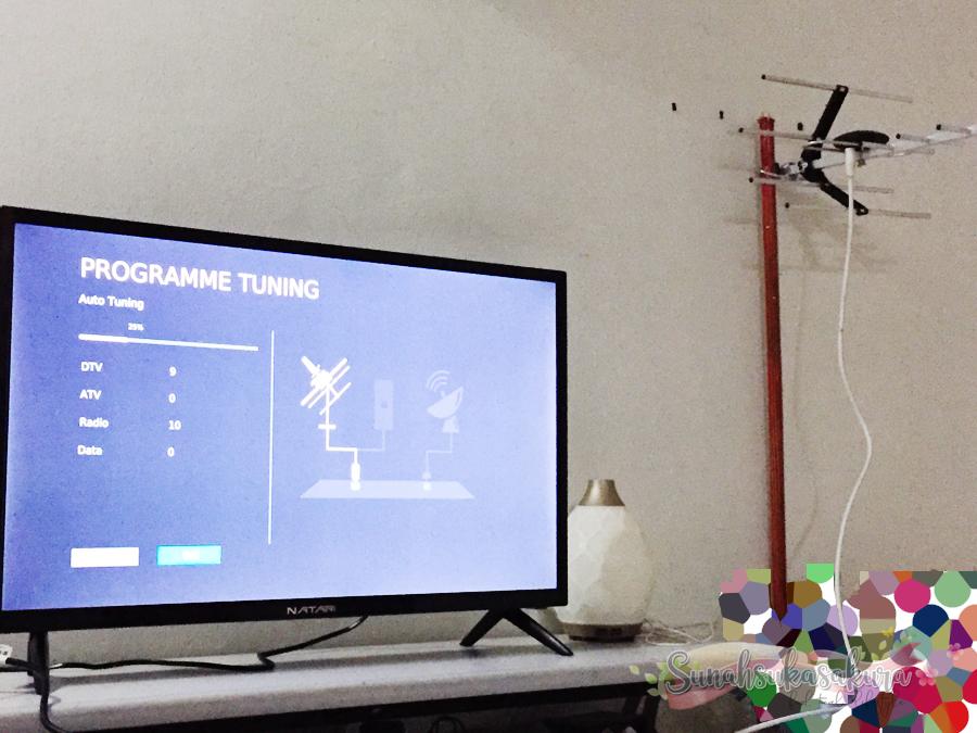 Beli NATARI Smart TV Dekat Shopee