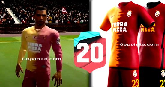 Dream League Soccer 2020 Galatasaray 2021 Formaları Yaması