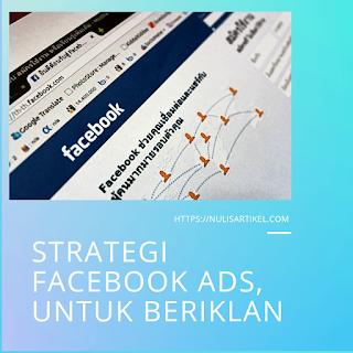 strategi facebook ads