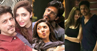 Here is How Mahira Khan Met Shahrukh Khan for the First Time