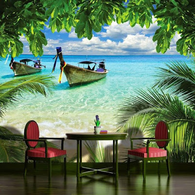 3D nature wallpaper for living room 3D wall murals 2018