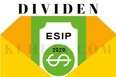 Jadwal Dividen ESIP 2020