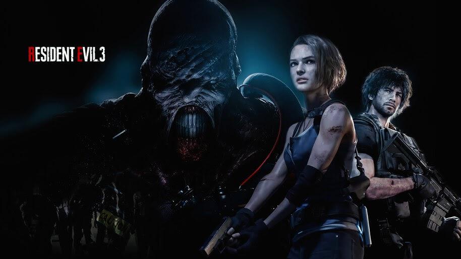 Resident Evil 3, Remake, Nemesis, 4K, #7.1553