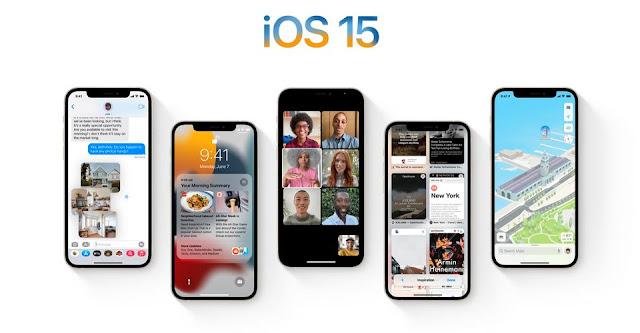 الميزات الجديدة في نظام iOS 15