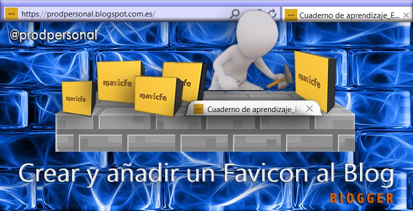 Crear y añadir un favicon al blog en Blogger