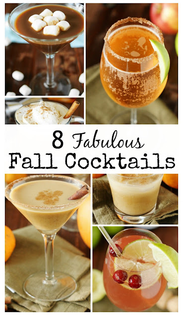 Top 16 Best Recipes of 2016 on The Kitchen is My Playground ~ 8 Fabulous Fall Cocktails