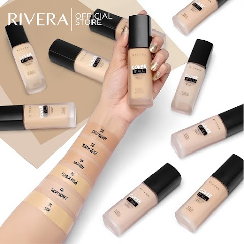 [REVIEW] Rivera Cover It All Foundation