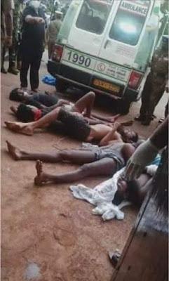 COVID-19 prisoners killed in Sri Lanka