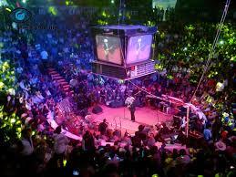 Palenque Feria de Pachuca por dentro