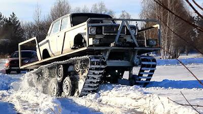 Δείτε μια απίστευτη μετατροπή ενός Lada Nova!