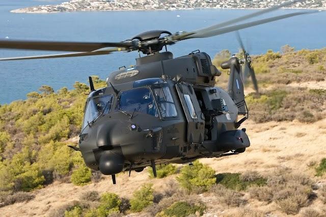 Απογειώνεται με τα ΝΗ-90 η Αεροπορία Στρατού (ΦΩΤΟ)