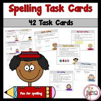40 Spelling Task Cards