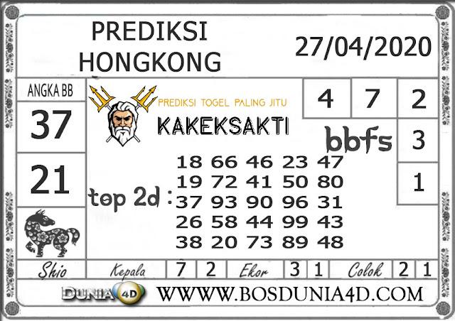 Prediksi Togel HONGKONG DUNIA4D 27 APRIL 2020