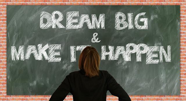 Kuvituskuva: Dream Big & Make it happen